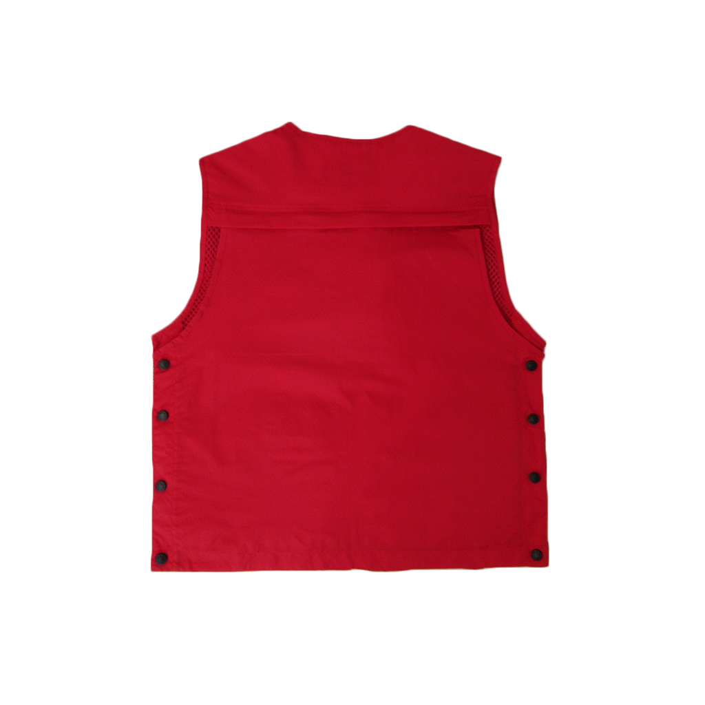 13 POCKET TACTICAL VEST (RED)