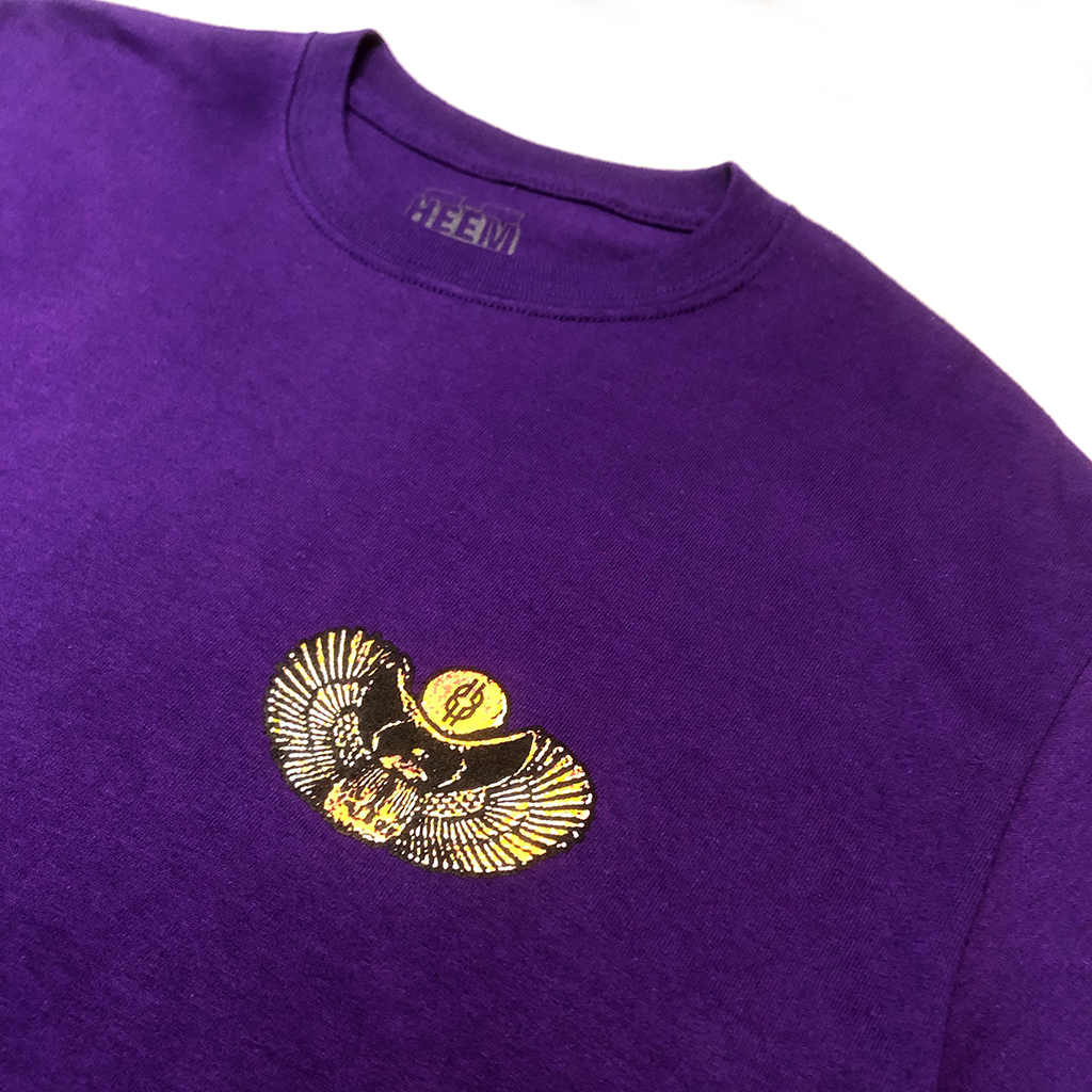 SCARAB TEE (PURPLE)