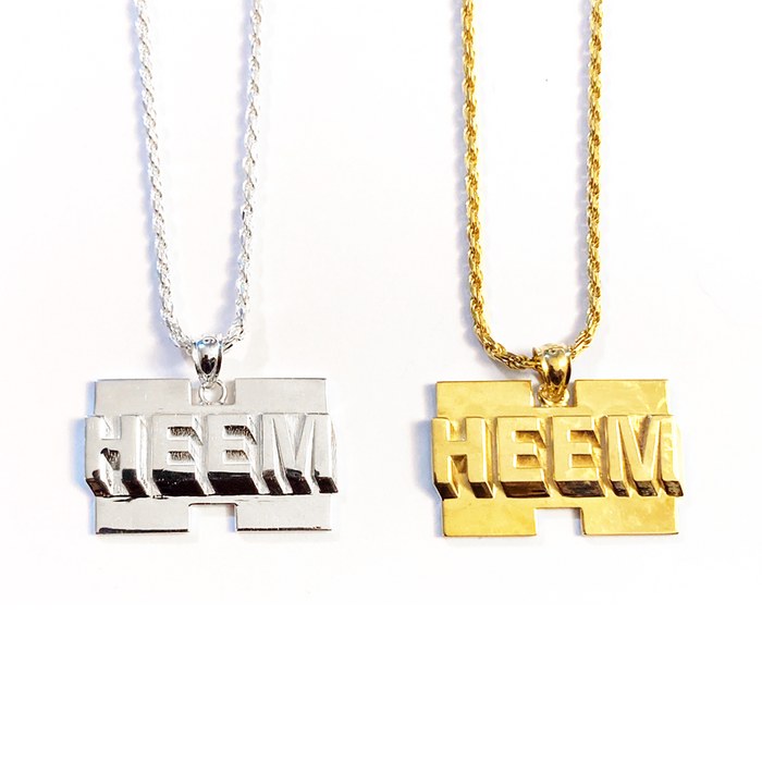WORK LOGO CHAIN / PENDANT (Assorted)