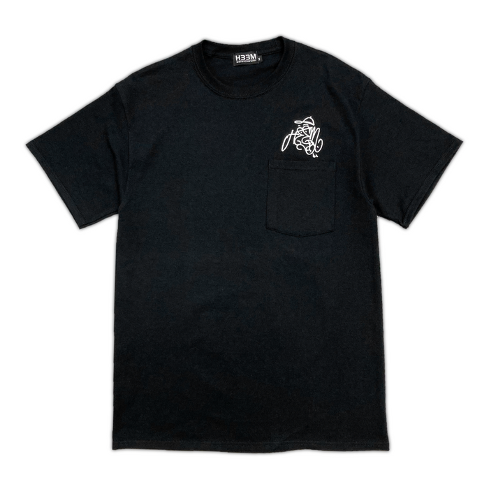 OZONE LOGO POCKET TEE (BLACK)