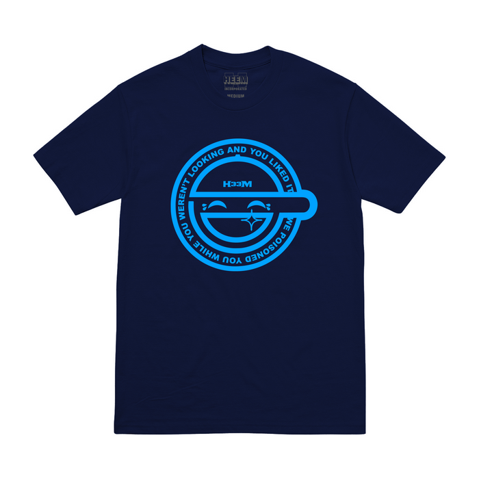 LAUGHING MAN TEE (NAVY)