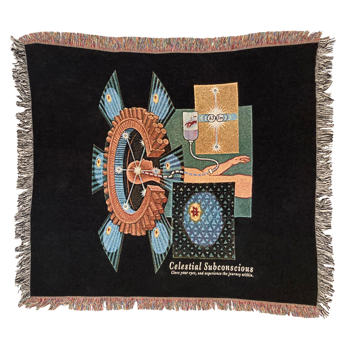 CELESTIAL SUBCONSCIOUS WOVEN THROW