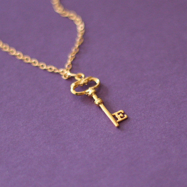 """Eternity"" Key Necklace"