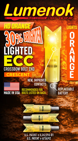 "ECC Easton Carbon Crescent - For Easton Carbon Bolts .297"" on the ID"