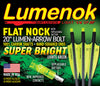 100% Carbon Lumen-Arrow Bolts - 20
