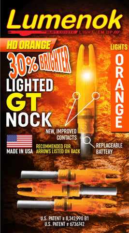 "GT - Lumenok GT fits .246"" ID Gold Tip shafts"