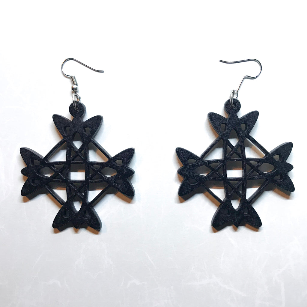 Earrings (MDF 14 - Painted) OPTIONAL