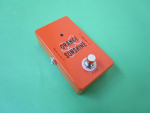 Vintage Technology Tracy Sands Orange Sunshine guitar fuzz pedal
