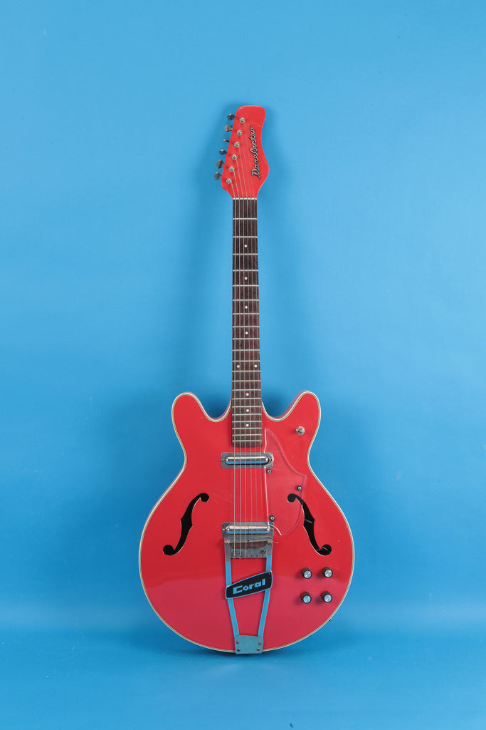 1968 Danelectro Coral Firefly Red