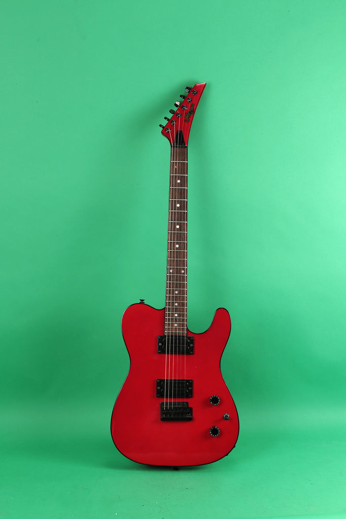 1981 Memphis Telecaster style guitar Red