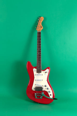 1966 Vox Spitfire Dakota Red