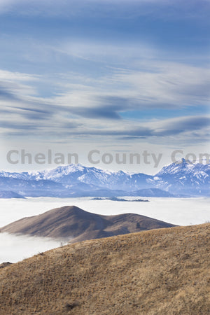 Burch Mt. Above the Clouds , JPG Image Download - Josh Cadd, Chelan County Commons