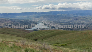 Columbia River From Burch Mt. , JPG Image Download - Travis Knoop, Chelan County Commons