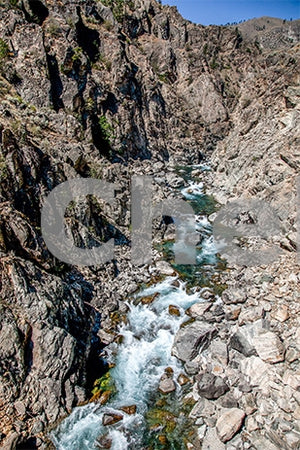 High Above Chelan Gorge , JPG Image Download - Travis Knoop, Chelan County Commons
