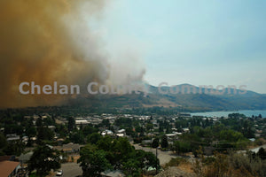 Chelan Outskirts Fire , JPG Image Download - Jared Eygabroad, Chelan County Commons