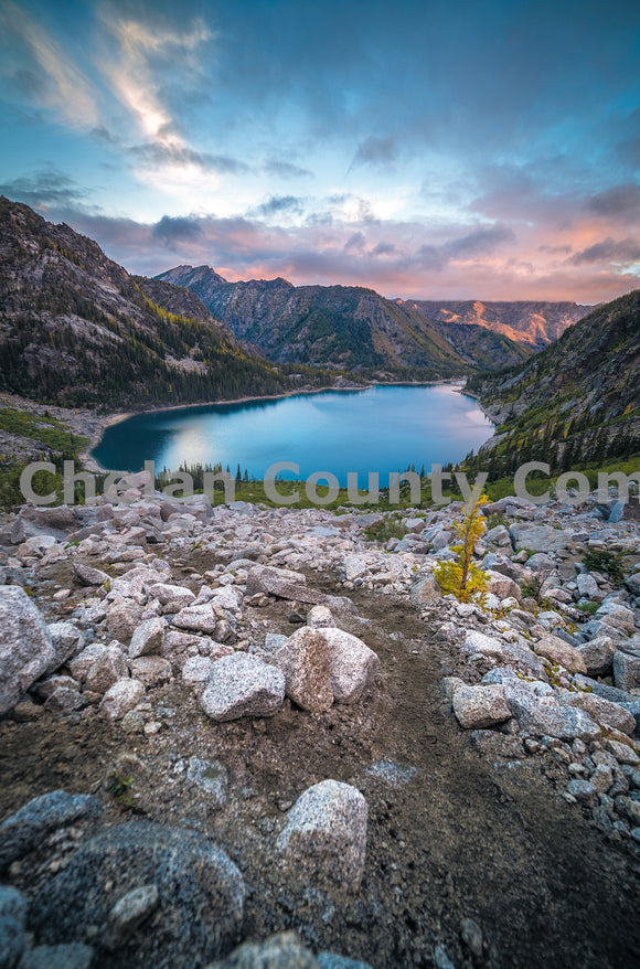 Colchuck 2016 - dusk , JPG Image Download - Brian Mitchell, Chelan County Commons