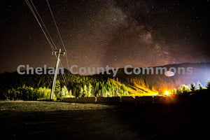 Mission Ridge Star Gazing , JPG Image Download - Brian Mitchell, Chelan County Commons