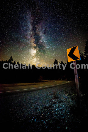 Mission Ridge Night Turn , JPG Image Download - Brian Mitchell, Chelan County Commons