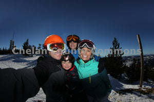 Family at Mission Ridge , JPG Image Download - Jared Eygabroad, Chelan County Commons