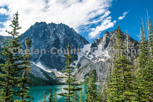 Enchantments - Colchuck Lake , JPG Image Download - Josh Cadd, Chelan County Commons