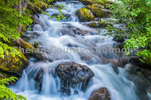 Colchuck Waterfall , JPG Image Download - Josh Cadd, Chelan County Commons