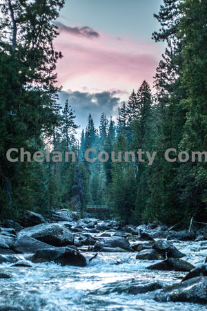 Entiat Lake Creek , JPG Image Download - Josh Cadd, Chelan County Commons