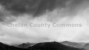 Foggy Wenatchee Foothills , JPG Image Download - Rob Spradlin, Chelan County Commons