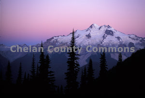 Glacier Peak Sunrise , JPG Image Download - Stephen Hufman, Chelan County Commons