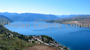 Calm Water Glassy Lake Chelan , JPG Image Download - Richard Uhlhorn, Chelan County Commons