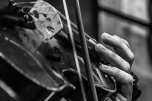 Close Up Violinist , JPG Image Download - Rob Spradlin, Chelan County Commons