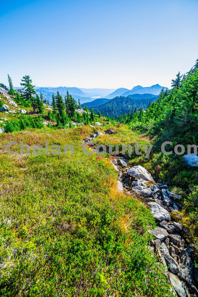 Labyrinth Mountain Creek , JPG Image Download - Brian Mitchell, Chelan County Commons