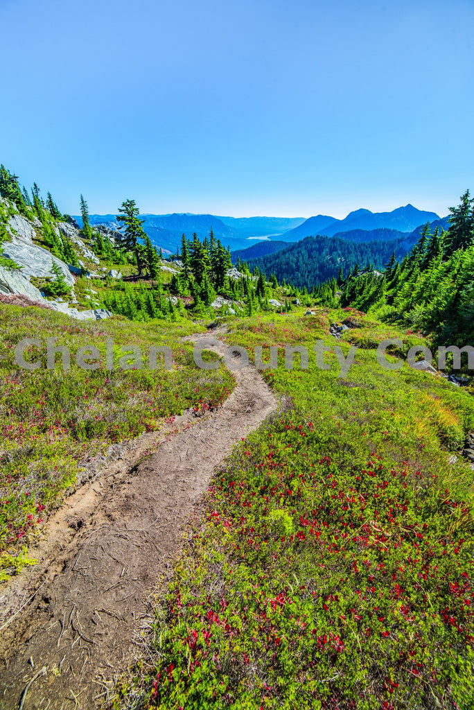 Labyrinth Mountain Hiking Trail , JPG Image Download - Brian Mitchell, Chelan County Commons