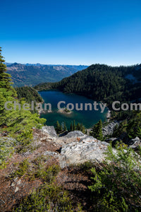 Lake Theseus from above , JPG Image Download - Brian Mitchell, Chelan County Commons