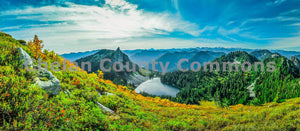 Lake Valhalla Panorama , JPG Image Download - Brian Mitchell, Chelan County Commons