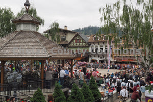 Maifest Crowd Downtown Leavenworth , JPG Image Download - Randy Dawson, Chelan County Commons