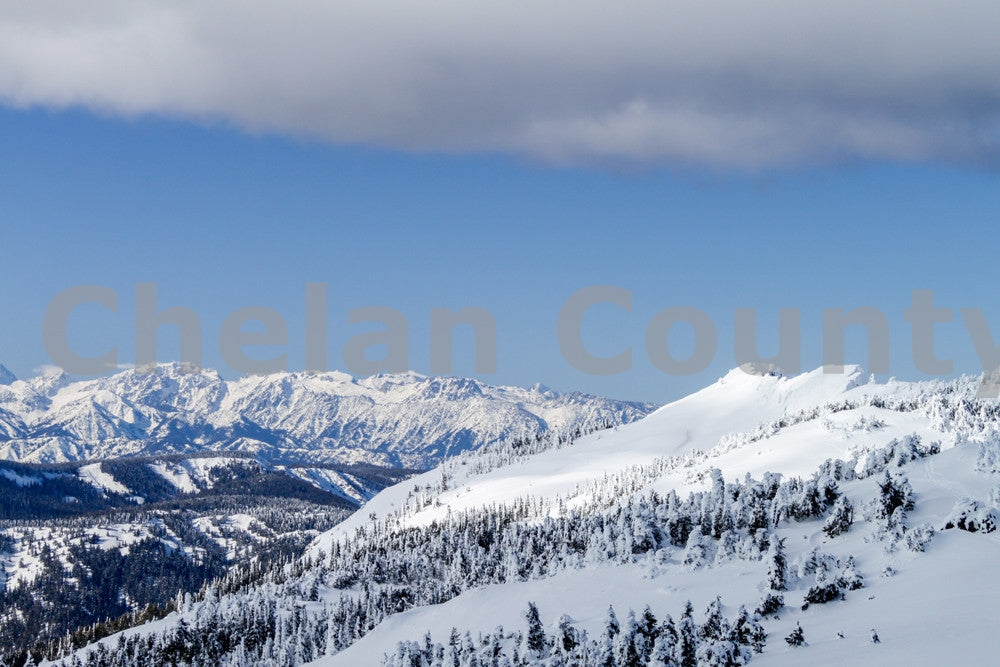 Mission Ridge Snow , JPG Image Download - Megan Lewis, Chelan County Commons