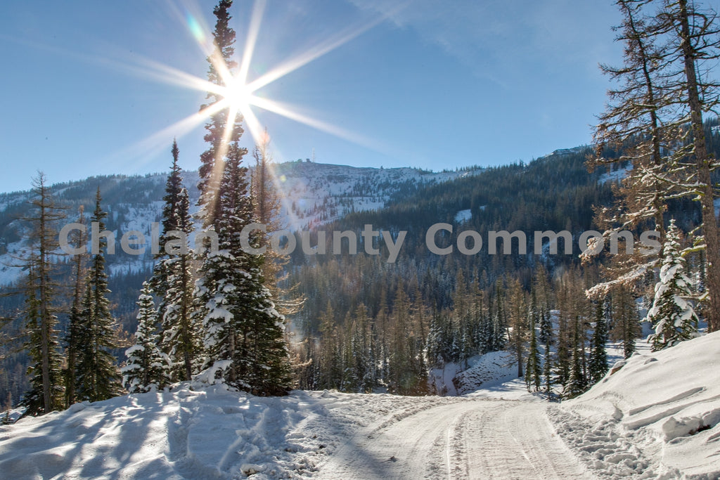 Microwave Tower View - Mission Ridge , JPG Image Download - Travis Knoop, Chelan County Commons