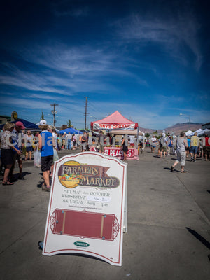 Wenatchee Farmers Market Entrance , JPG Image Download - Randy Dawson, Chelan County Commons
