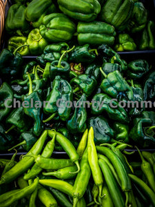Peppers at Wenatchee Farmers Market , JPG Image Download - Randy Dawson, Chelan County Commons
