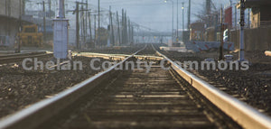 Orondo Ave Railroad Tracks , JPG Image Download - Josh Cadd, Chelan County Commons