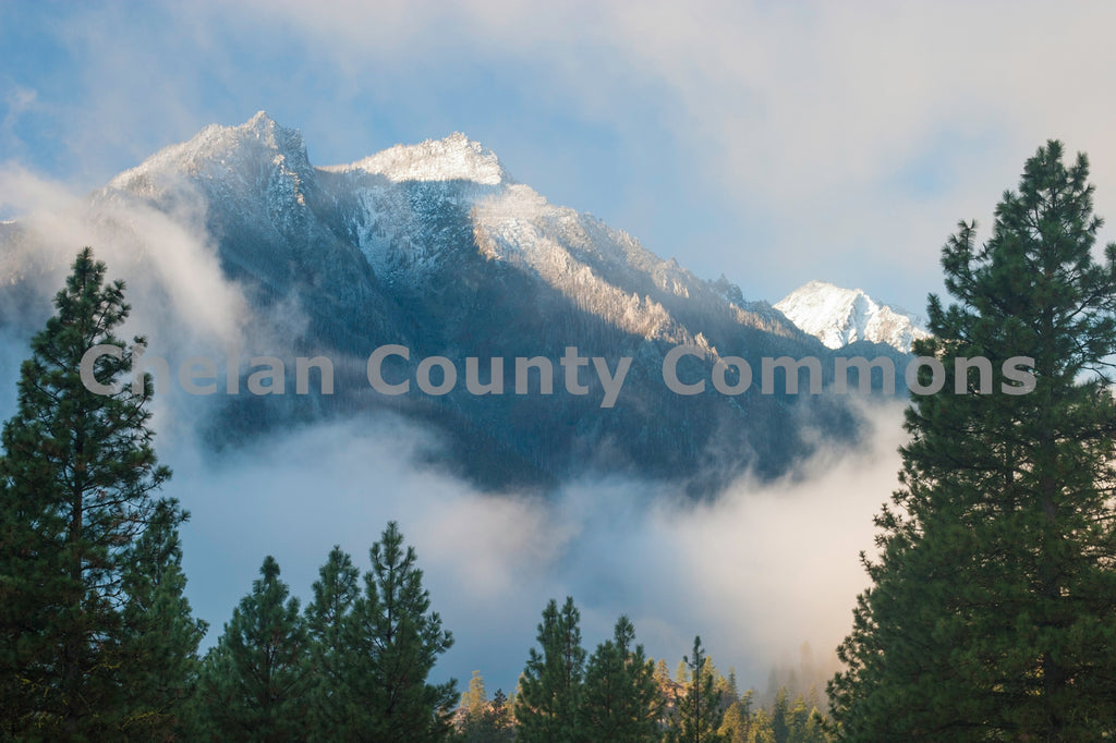 Sleeping Lady Morning Mist , JPG Image Download - Stephen Hufman, Chelan County Commons