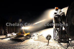 SnowCat at Night , JPG Image Download - Jared Eygabroad, Chelan County Commons