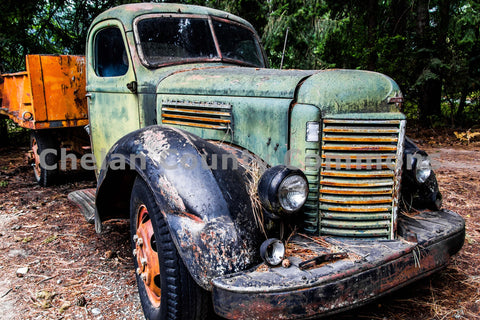 An Old Truck in Stehekin