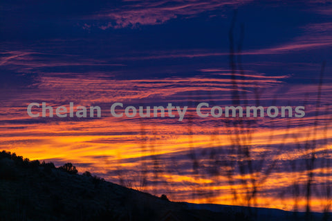 Orange & Purple Foothills Sunrise