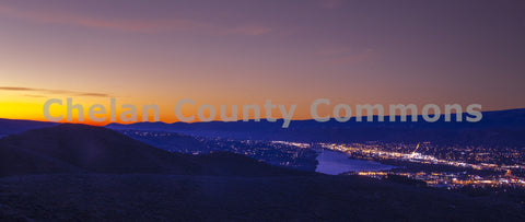 Sunrise Over Wenatchee