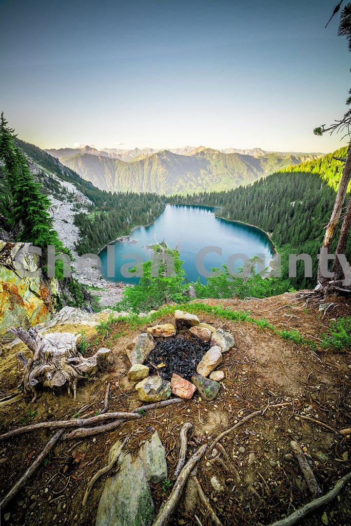 Theseus Lake , JPG Image Download - Brian Mitchell, Chelan County Commons