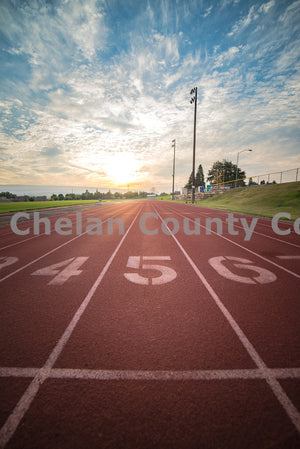 Track at Wenatchee High School , JPG Image Download - Brian Mitchell, Chelan County Commons