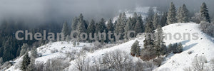Tumwater Mountain Winter , JPG Image Download - Stephen Hufman, Chelan County Commons