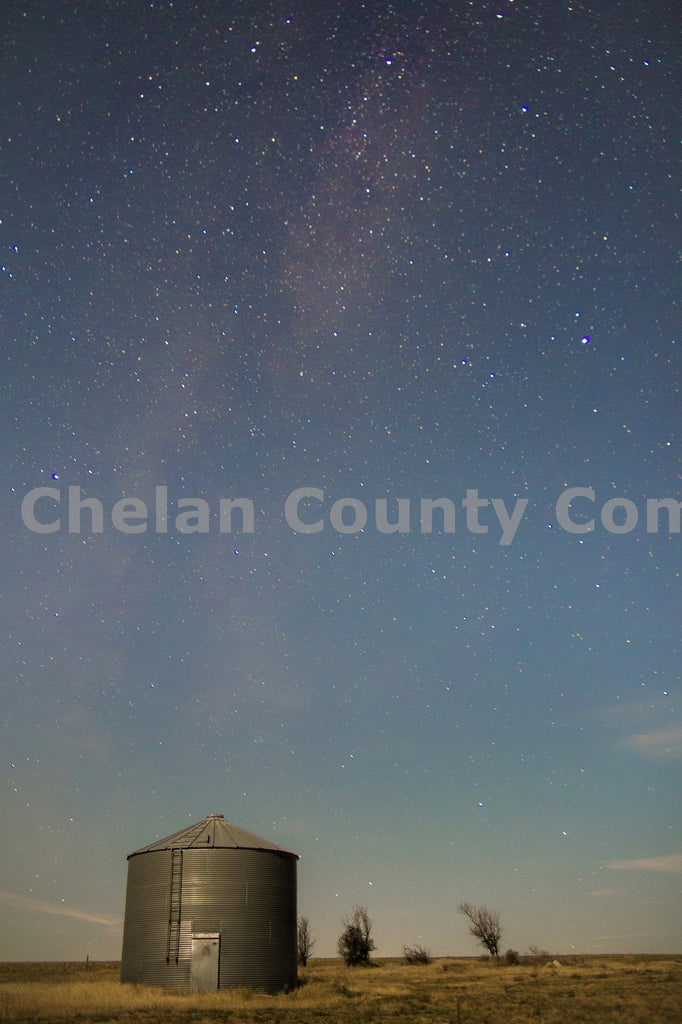 Waterville Night Sky , JPG Image Download - Josh Cadd, Chelan County Commons
