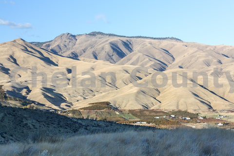 Wenatchee Shadowed Hillsides